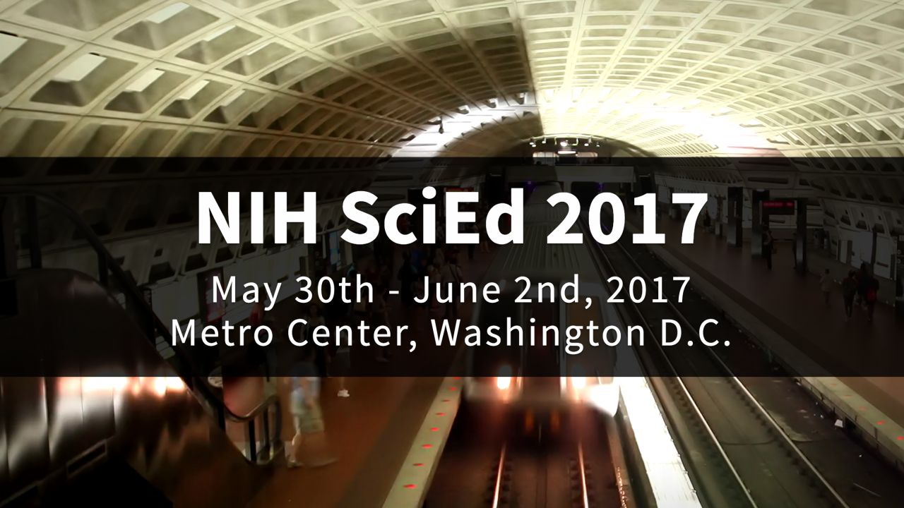 Image for NIH SciEd 2017