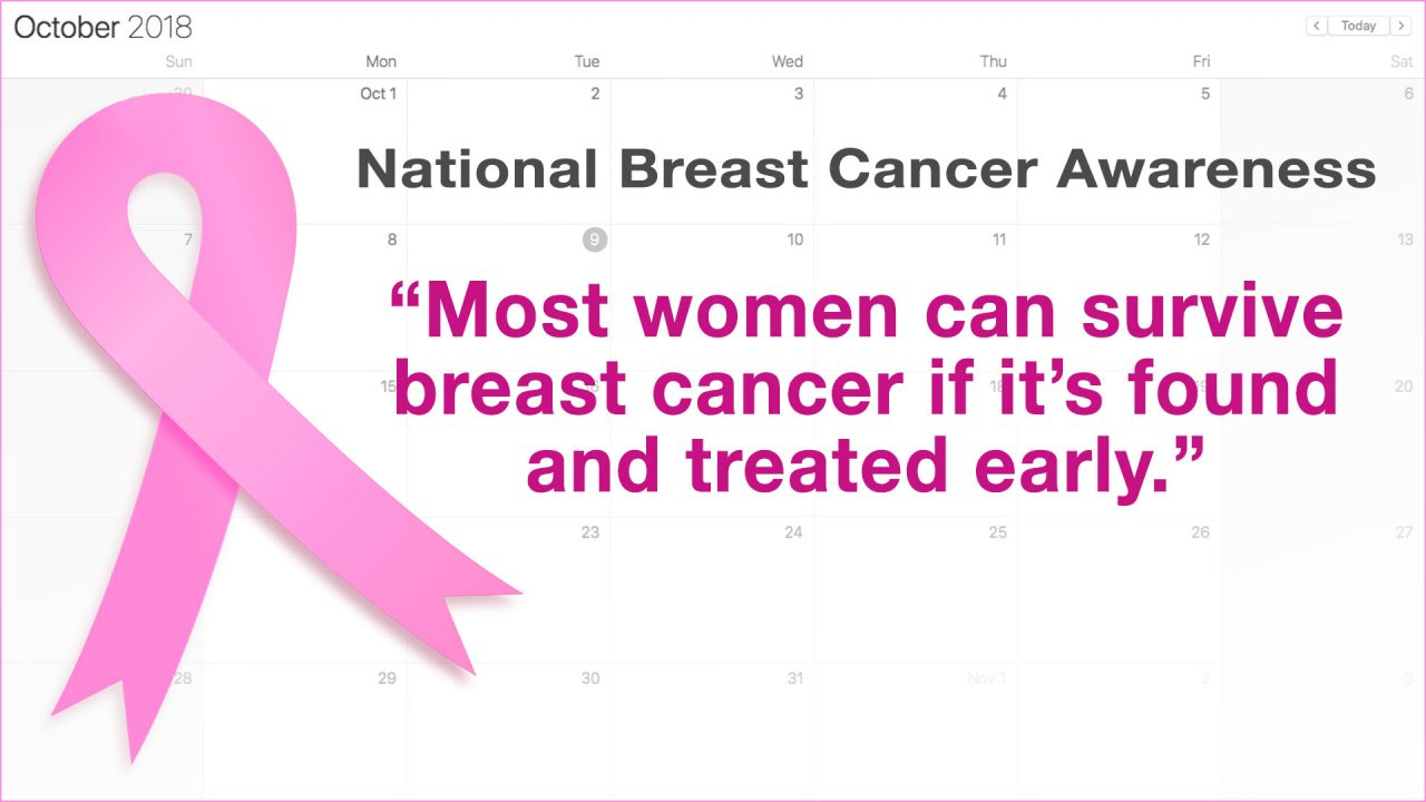 Image for October –  National Breast Cancer Awareness Month