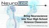 NeuroLab: Adapting an authentic ISE experience for high school course integration and positive STEM outcomes