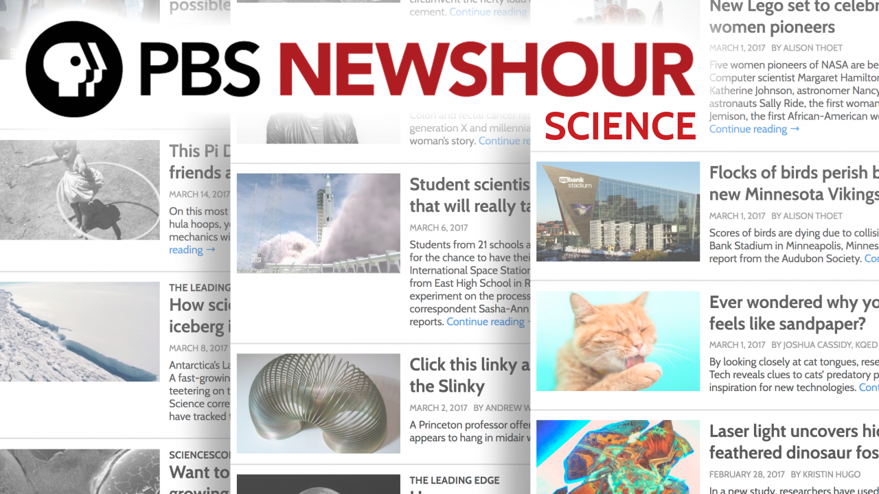 Image for PBS NewsHour Health Literacy and Student Reporting Labs