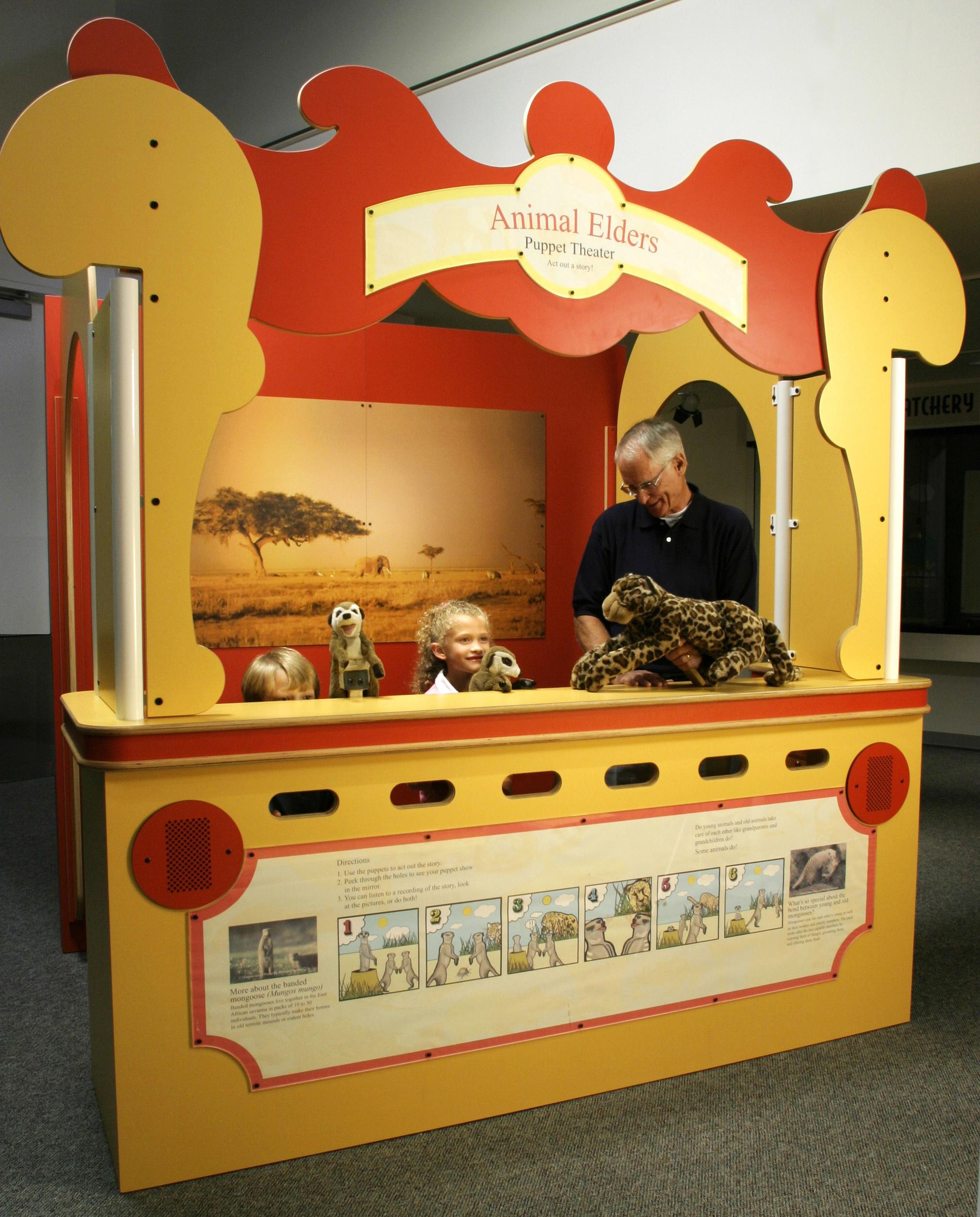 Puppet Theater on Human Foosball Diagram