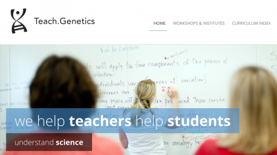 Genes and Microbes: Engaging Students and Teachers in NGSS-aligned Curricula and Professional Development