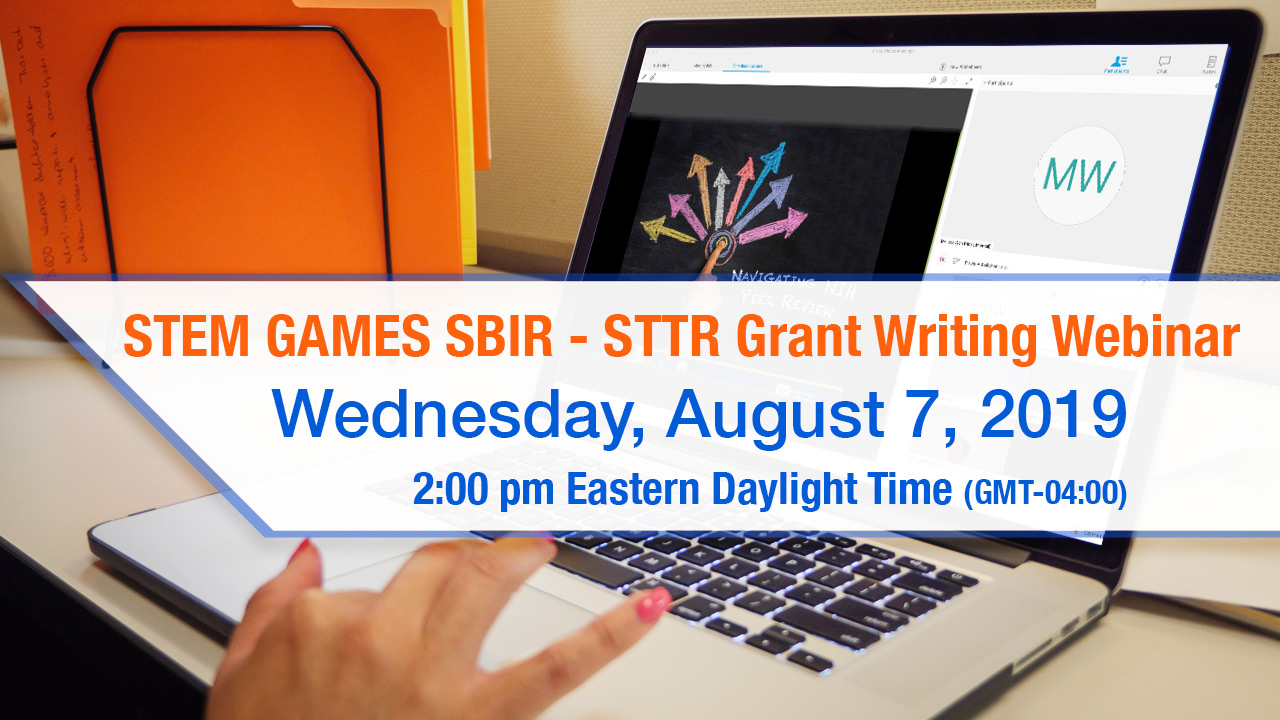 Image for SERIOUS STEM GAMES SBIR – STTR Grant Writing Workshop