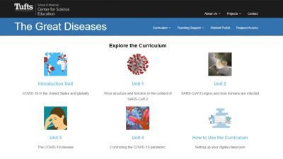 Thumbnail image for Online lessons about COVID-19